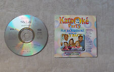 "CD AUDIO  / KARAOKÉ PARTY VOL 1 ""PLAY BACK FRANÇAIS VERSION CHANTÉE"" 10T 1995"