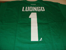 Vancouver Canucks Roberto Luongo Name Number Green T Shirt L Reebok NHL Hockey
