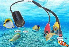 25m Long Cable Mini Waterproof  Fishing Camera (8 LEDS 520TVL,IP68)