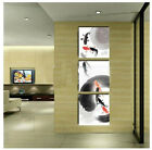 40x40CM *3PCS Modern Animals Hand-painted Frameless On Canvas Art Oil Painting