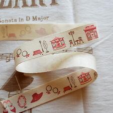 Tissu de coton ruban trim-maison rose sac chaussure chapeau collier
