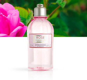 L'Occitane Rose Moisturising Nourishing Shower Gel 250ml Gentle Cleanse FreePost