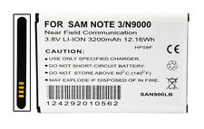 New 3200mAh Li-ion Battery For Samsung Galaxy Note 3 Iii Sm-N9005 / with Nfc