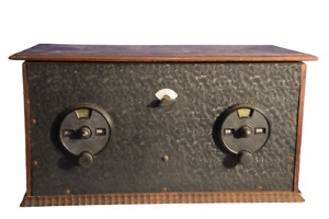 Röhrenradio/Detektor Bakelit/holz
