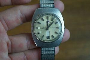 Vintage Rado Voyager  Wrist Watch Swiss  - Parts Only