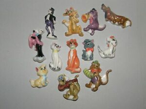 12 FEVES PLATES LES ARISTOCHATS 1996
