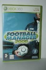 FOOTBALL MANAGER 2006 GIOCO USATO BUONO XBOX 360 EDIZIONE INGLESE RS2 55532