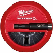 Milwaukee 15pc Shockwave Impact Duty Screwdriver Bit Set Puck Driver Bits PH PZ