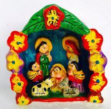 Nativity Set Retablo