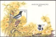 Macau 1995 Oriental Magpie-robin/Birds/Nature/Wildlife/StampEx 1v m/s (s1350)