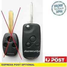 3 Buttons Flip Remote Key Case suit HONDA Odyssey S2000 CIVIC ACCORD JAZZ CRV