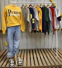 JOB LOT X10 Vintage Americana Sweatshirts / Jumpers