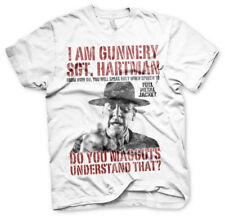 Officially Licensed Full Metal Jacket - Sgt. Hartman Men's T-Shirt S-XXL Sizes
