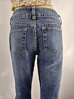 London Jean Women's Medium Wash Stretch Bootcut Jeans Size 8