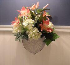 """ Summertime Shabby Chic "" Door or Wall Arrangement - Flower Arrangement"