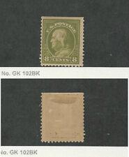 United States, Postage Stamp, #414 Mint Hinged, 1912