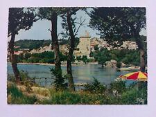 Villeneuve-les-Avignon, France Vintage colour postcard c1970
