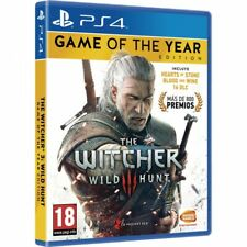 THE WITCHER 3 WILD HUNT GOTY PS4 GAME OF THE YEAR EDITION PLAYSTATION 4
