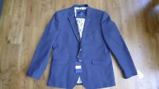 New Cavani men's dark blue blazer size UK 46