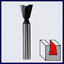 HM Zinkenfräser Holzfräser Fräser 14° D 14 mm Schaft 8 mm