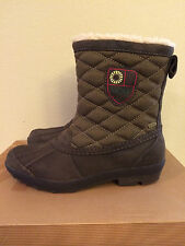 Size 5 UGG Womens Bellegarde Winter Boots Waterproof 1001731 W Brown (Youth 3)