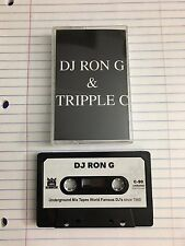 DJ Ron G DJ Tripple C Double Trouble Tape Kingz NYC Mixtape 90s Hip Hop Cassette