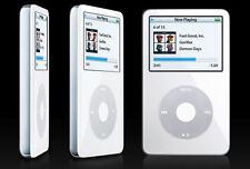 240GB SSD iPod Video 5th Gen White Classic Flash Wolfson DAC (thin version)