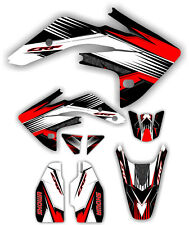 08-12 CRF150 Graphic Kit Shroud Plastic Decals CRF 150 150R Crf150R decal MX
