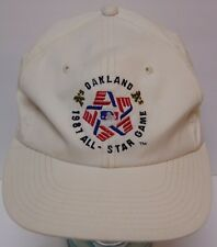 Vtg 1987 Sports Specialties MLB Baseball All Star Game Oakland A's SNAPBACK HAT