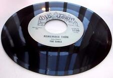 The Earls Remember Then 1963 Old Towne 1130 Blue Label Doowop 1st Prss 45rpm VG+