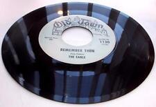 The Earls Remember Then 1963 Old Towne 1130 Blue Label Doowop 1st Prss 45rpm VG+