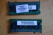 TOSHIBA SATELLITE P100 LAPTOP MEMORY (2x -512MB) 512MB 2Rx16 PC2-5300S-555-12-A0