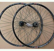 """27.5"""" 650b MOUNTAIN BIKE MTB ruote Shimano Deore 8/9/10 velocità QR FRENO A DISCO"""