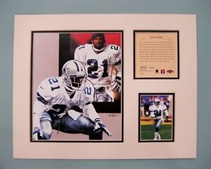 Dallas Cowboys Deion Sanders 1997 NFL Football 11x14 MATTED Kellly Russell Print