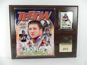 Tim Tebow Denver Broncos Plaque, Wooden Picture, 38 CM, Football NFL, New