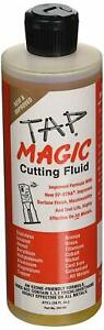 Tap Magic 10016E Fluid with Spout top Can and Ep-Xtra, 16 oz Yellow (Pack of 12)