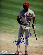 VINCE COLEMAN CARDINALS JSA STICKER SIGNED ORIGINAL 1/1 8X10 PHOTO AUTOGRAPH