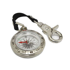 Camping Keychain Pro Compass Hiking Hunting Survival Gear Hook Pocket Style