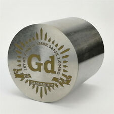 1Kg Finish Turning Gadolinium Metal Cylinder 55×55mm 99.9% Marked Periodic Table