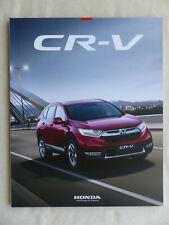 Honda CR-V Hybrid MJ 2019 - Prospekt Brochure 12.2018
