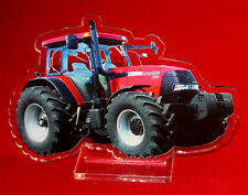 statuette photosculptée 10x15 cm tracteur case 2 tractor traktor trattore
