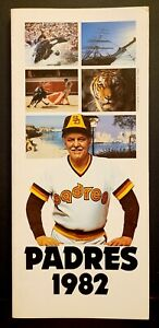 1982 MLB BASEBALL MEDIA GUIDE SAN DIEGO PADRES