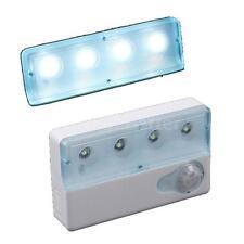 Wall Light Motion Sensor Detector Infrared PIR Lamp Battery Operated New