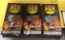 Fireworks Label M-80  Brand Salute Label 100 Count 3 Boxes Of Labels Look