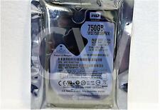 """WD7500BPVX Western Digital BLUE 750GB 5400RPM 6Gb/s 8MB 2.5"""" SATA HDD Hard Drive"""