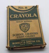Vintage - Crayola Gold Medal School Crayons Binney & Smith Co. No. 8