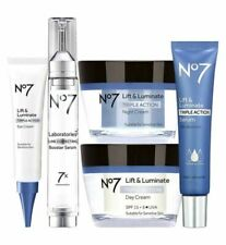 BootsNo7 Lift & Luminate T/A Complete Regime Serum Day Night Eye Line Correcting