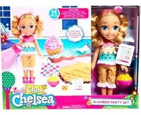 Barbie Club M, Chelsea Doll and Slumber Party Set!