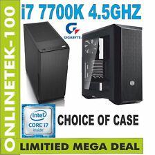 Z270X Intel i7 7700K  Gaming PC 8GB GTX 1070 8GB 240GB SSD WINDOWS 10 SLBX