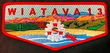 NEW OA WIATAVA LODGE 13 ORANGE COUNTY COUNCIL CA PATCH CALIFORNIA SERVICE FLAP